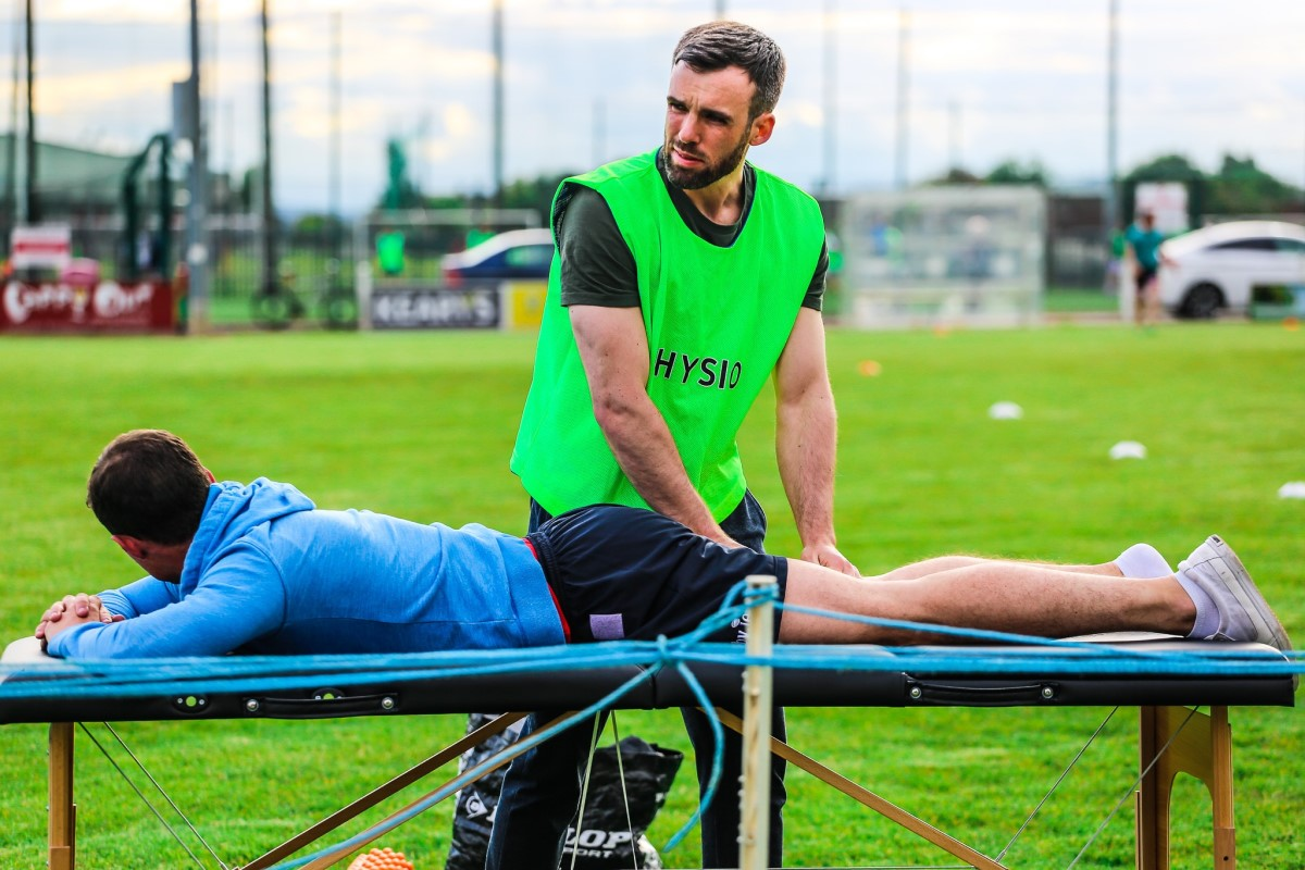 John Shanahan Physiotherapist at Cork Tag Rugby